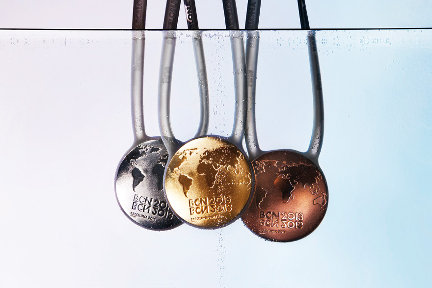 Lagranja wins Medal Design Competition held by Barcelona 2013