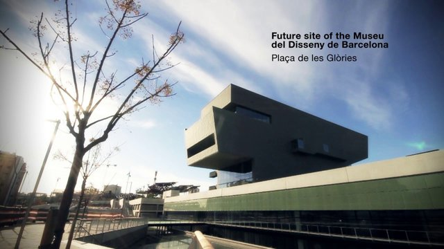 The new space. Disseny Hub Barcelona building