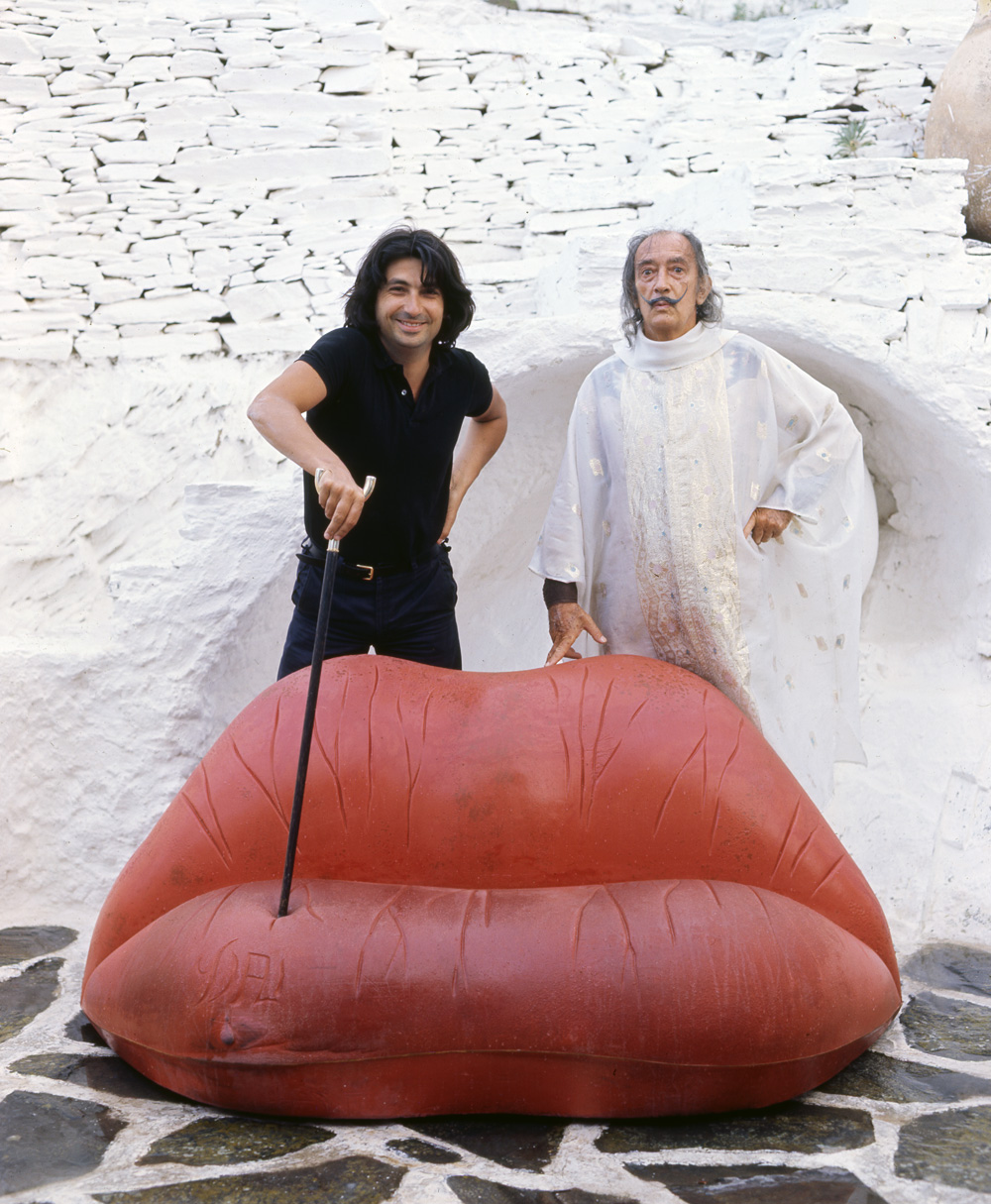 Salvador Dalí gdzie sztuka staje się  designem