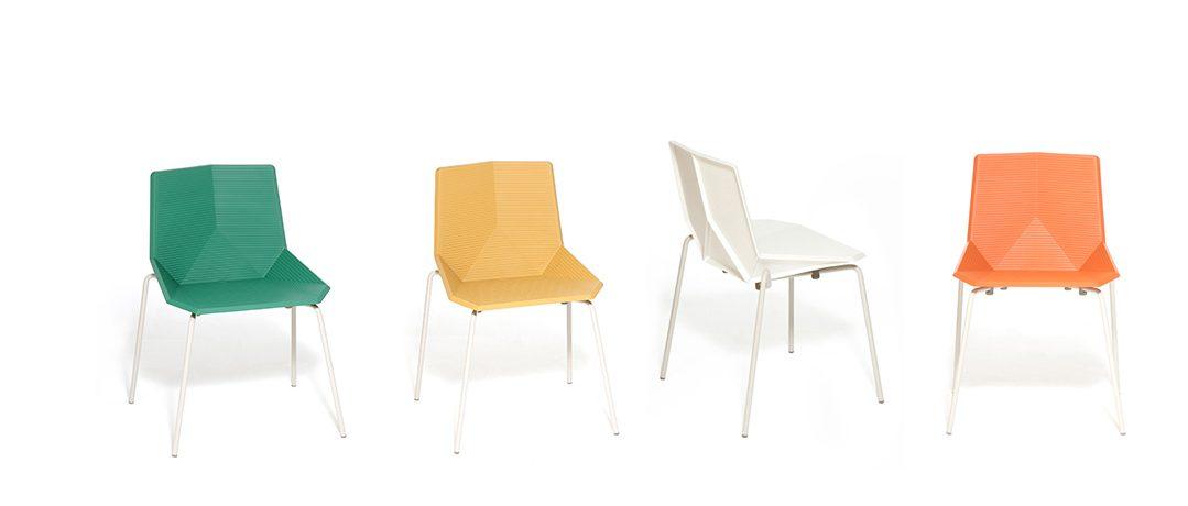 Nowoczesne krzesło plastikowe Green – ekologia w Twoim domu i biurze