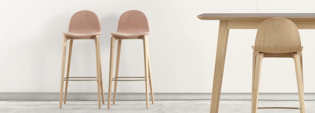 nowoczesne krzesła drewniane