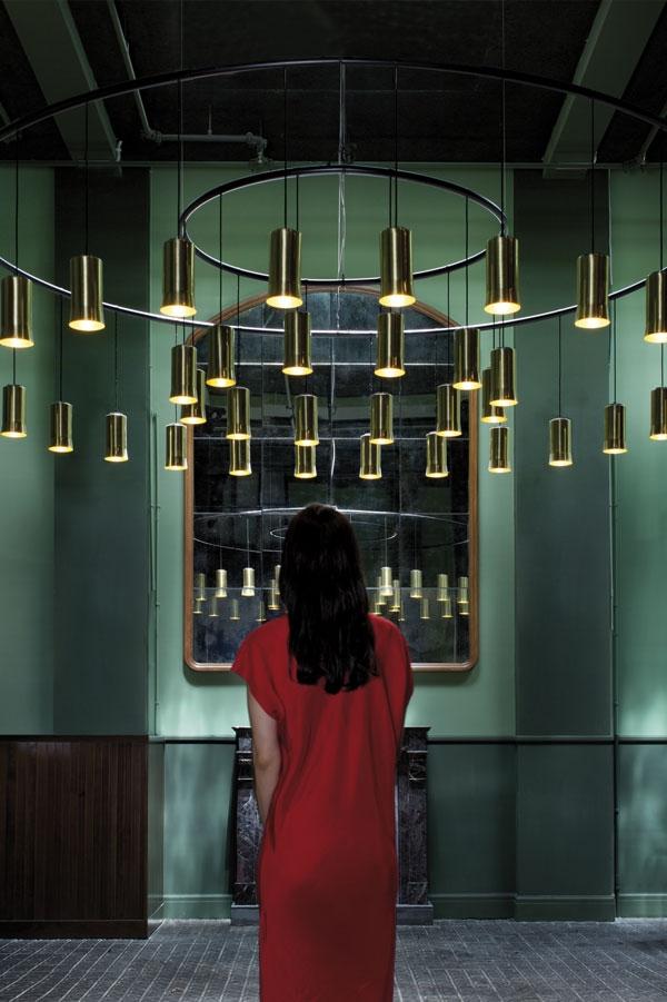 Lampy sufitowe Cirio z mosiadzu