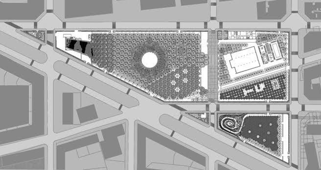 Parc Del Centre Del Poble Nou Mapa