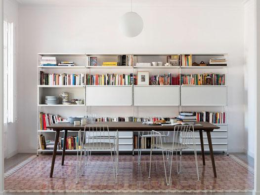 00 TRIA Shelving System Living Room 022