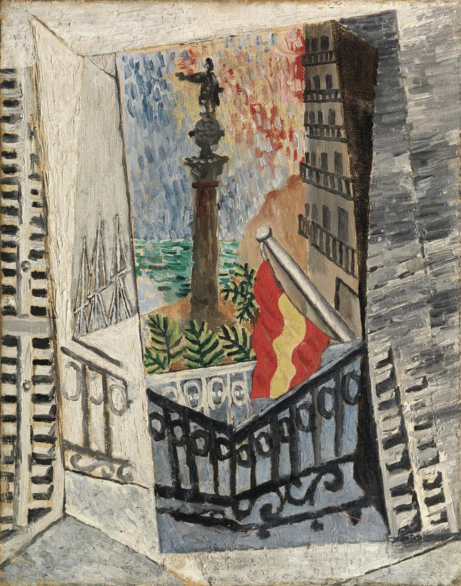 Pablo Picasso Passeig de Colom