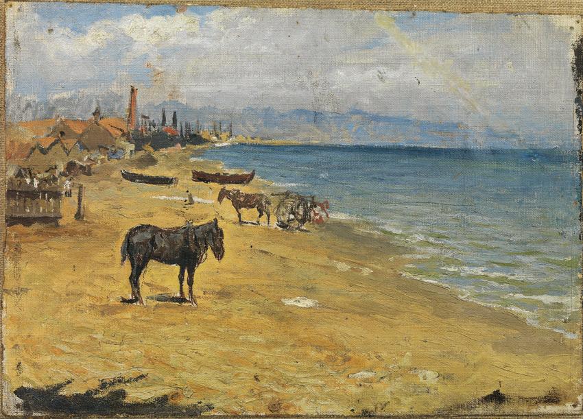 Pablo Picasso Plaża Barceloneta