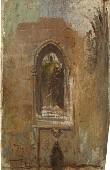 Pablo Picasso Szczegółowo klasztor katedry w Barcelonie