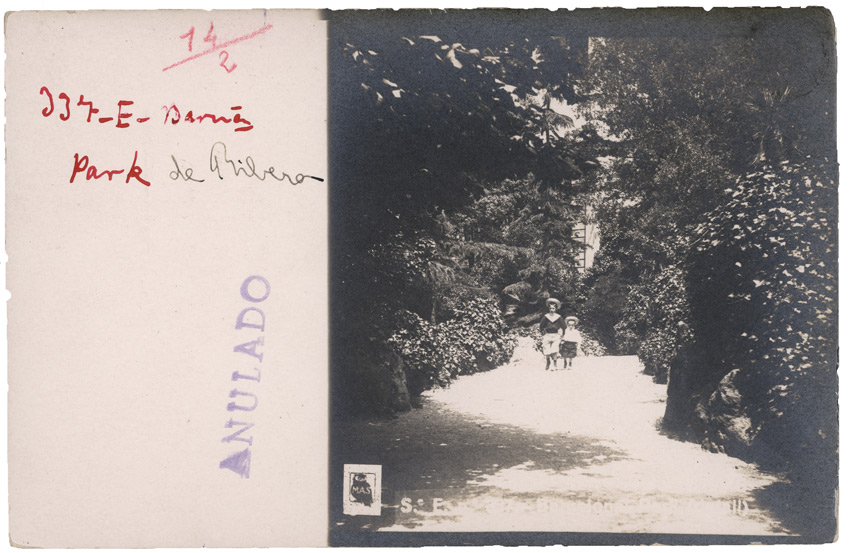 Adolf Mas Ribera Park 1906