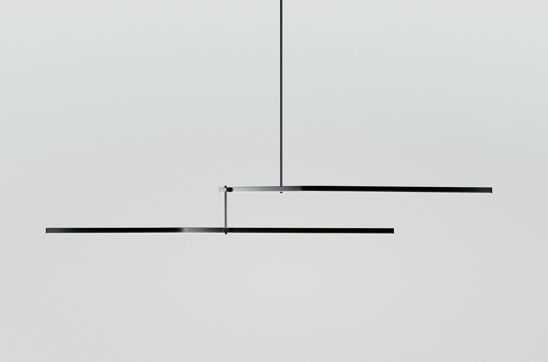Lampa Nitõ  światło w doskonałej równowadze