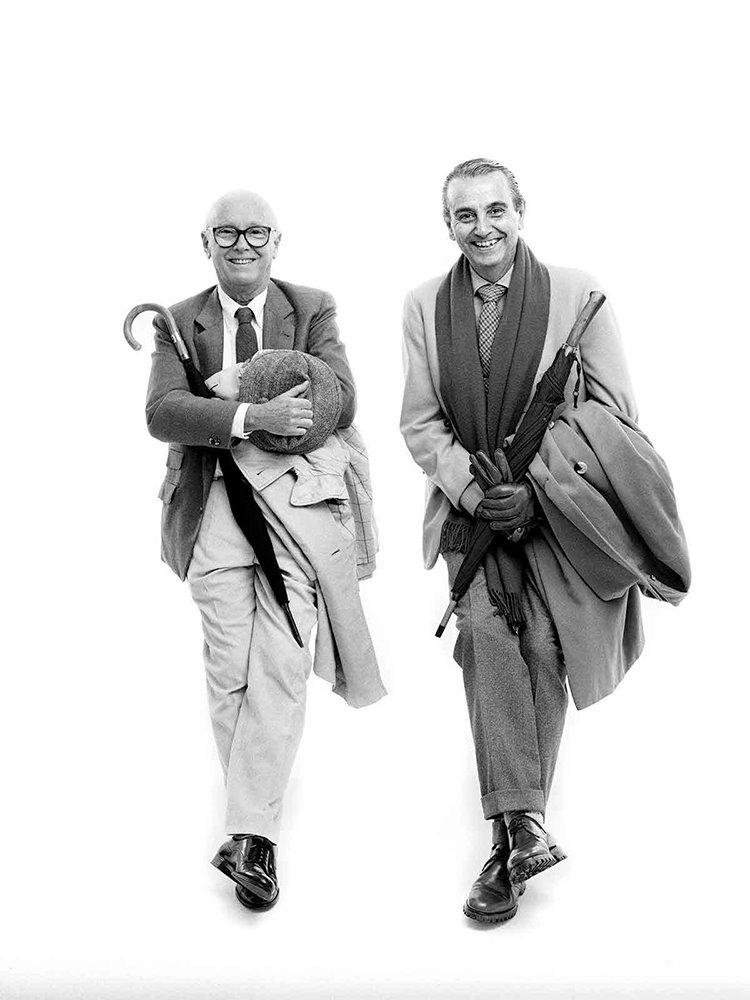Federico Correa (po prawej) i Alfons Milá byli kolegami szkolnymi, a później partnerami przez ponad 40 lat