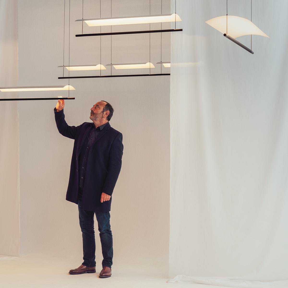 Lamina Pendant Lamp Antoni Arola Santacole Portada