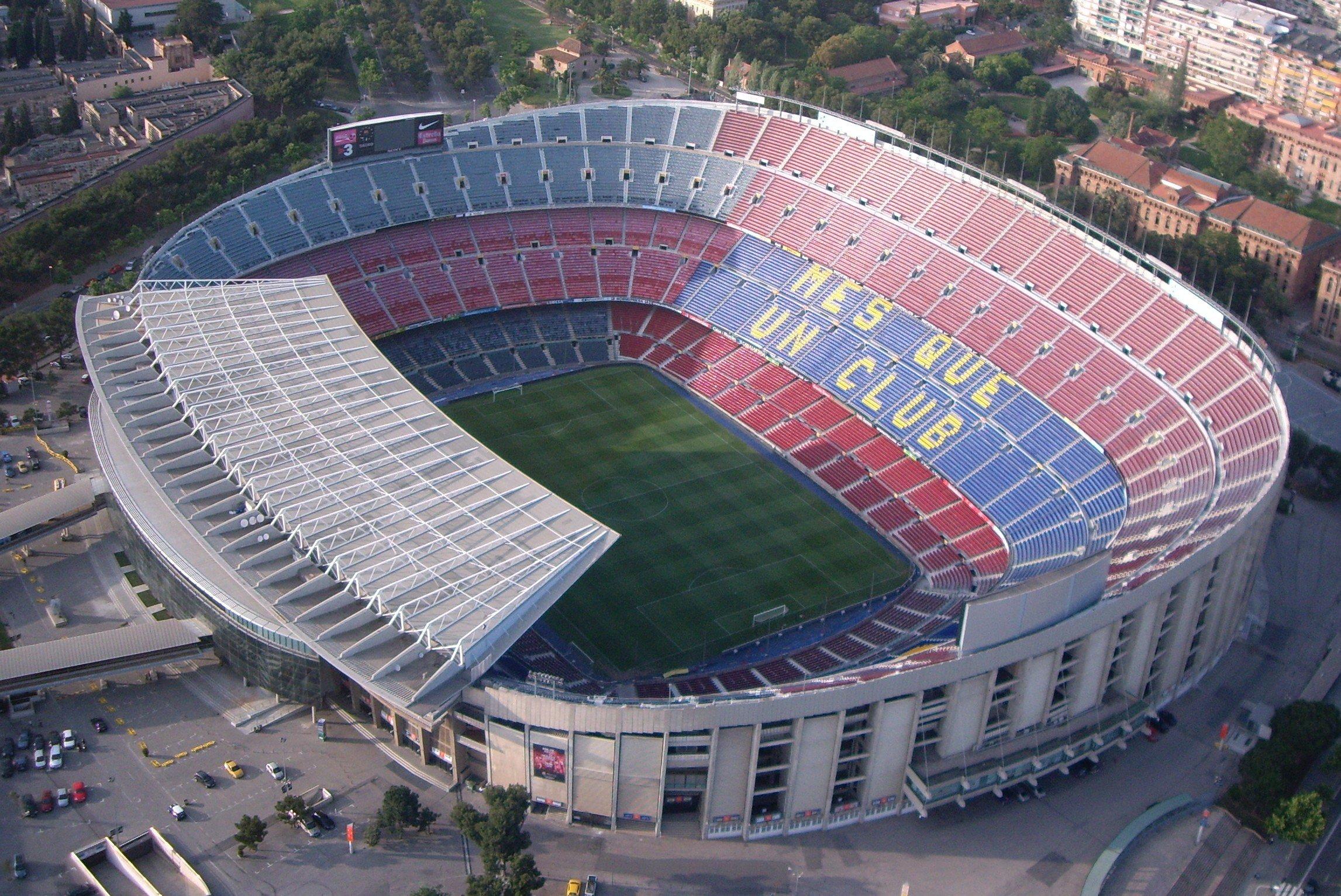 Camp Nou Barcelona 7