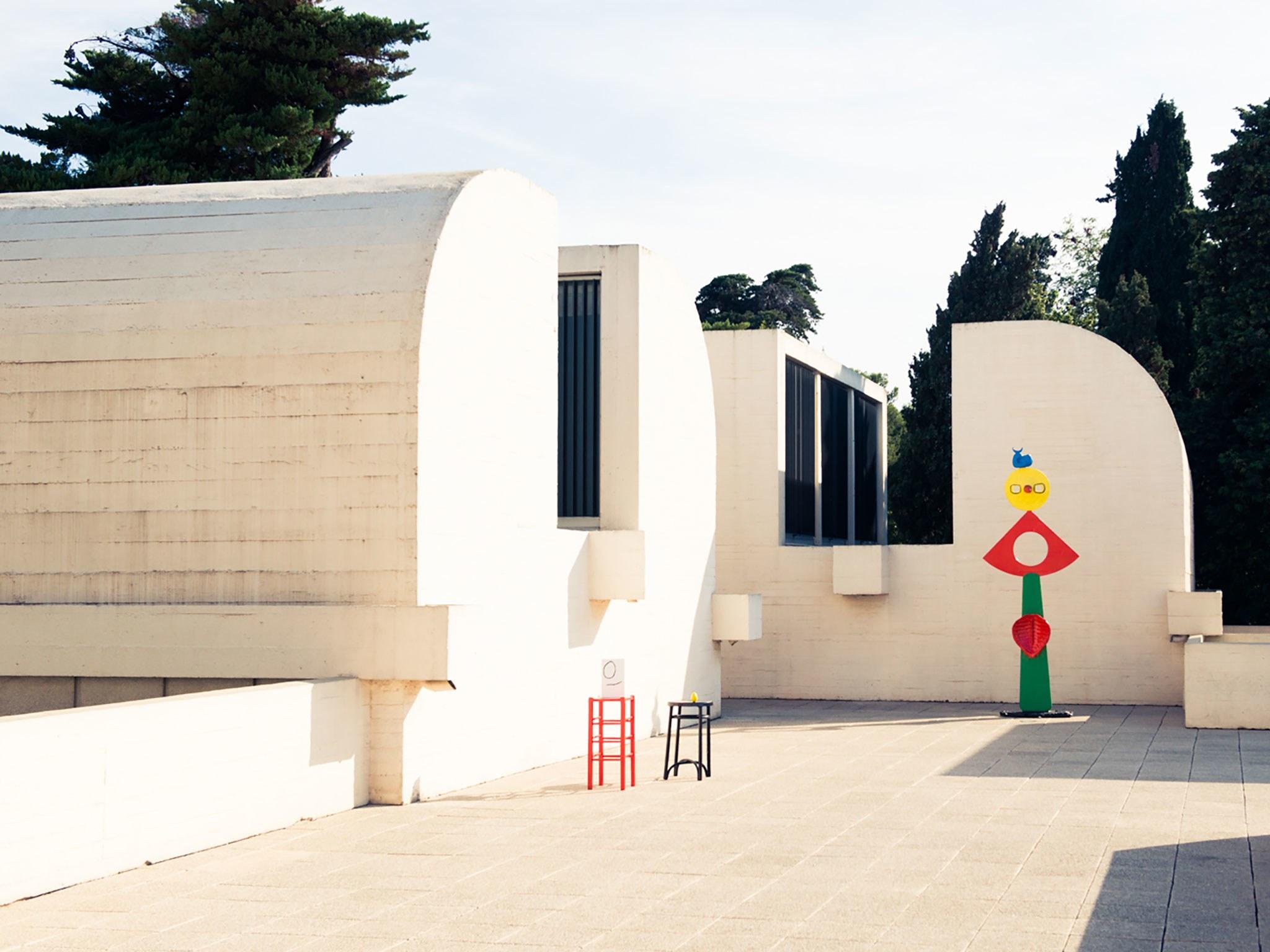 Fundacio Joan Miro Roof Barcelona Spain