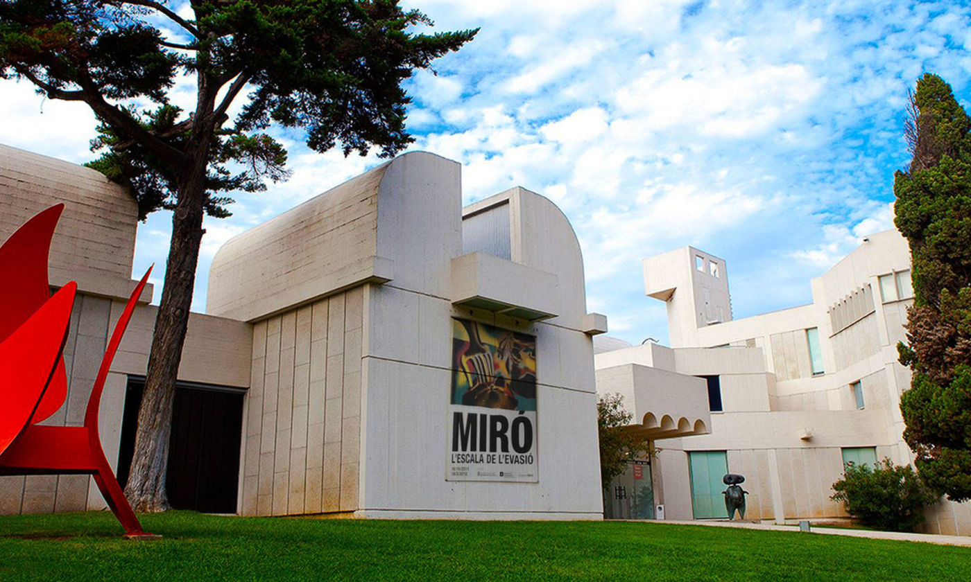 Joan Miro Foundation Barcelona Header